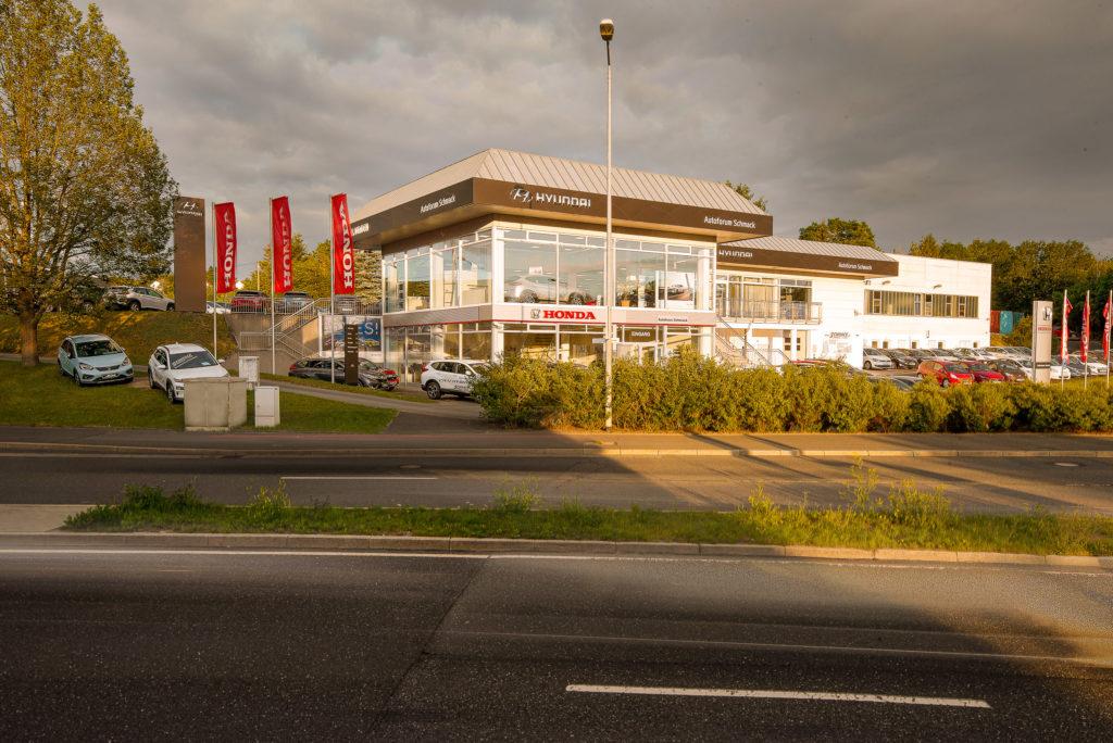 Autohaus Schmack Plauen, Fotograf Kenny Pool, Architekturfotografie